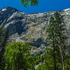 Sheer Granite Wall of El Capitan