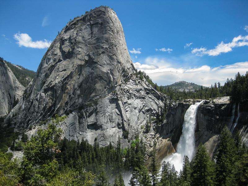 Liberty Cap and Nevada Fall, Yosemite National Park