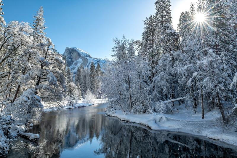 Winter morning bliss - Yosemite NP, 2019