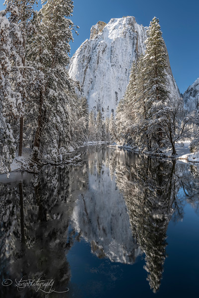 Cathedral reflection  - Yosemite NP, 2019