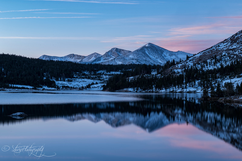 Tioga Pass morning - Yosemite, CA