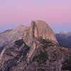 Twilight On Half Dome