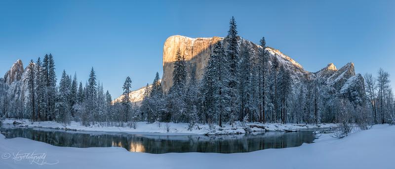 Winter morning  - Yosemite NP, 2019