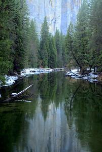 Granite & Pine Reflection