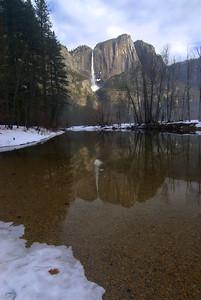Yosemite Falls & the Merced River