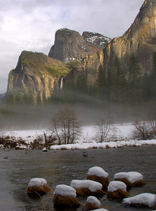 Bridalveil Falls & the Merced River
