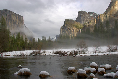 El Capitan & Bridalveil Fall