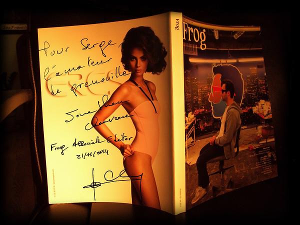 Jonathan Chauveau's autograph