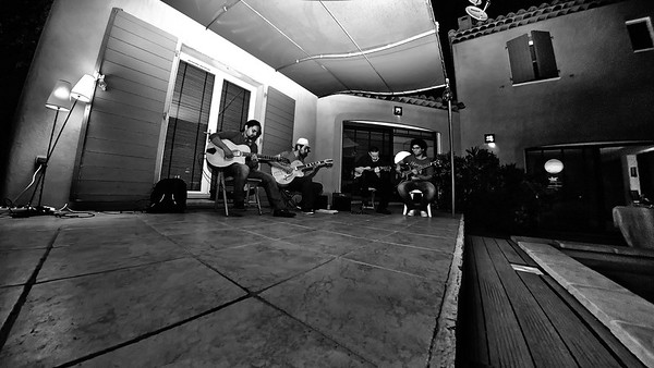 Gala Swing Quartet - Rehearsal