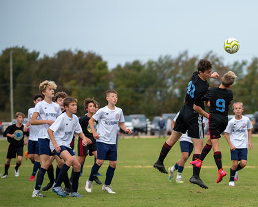 October 10, 2020 - Tuckahoe Turf Farm, Hammonton, NJ  EDP Fall Cup: Philadelphia Ukrainian Nationals 2007 Black (Credit Image: Carl Gulbish)