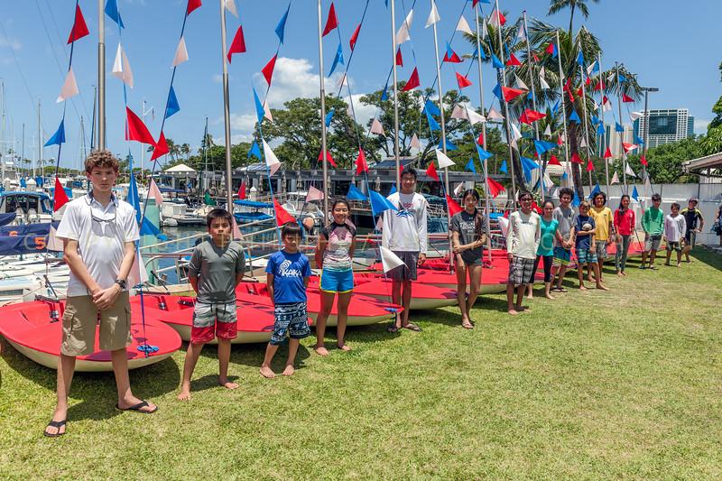 Wyc Juniors Topper fleet