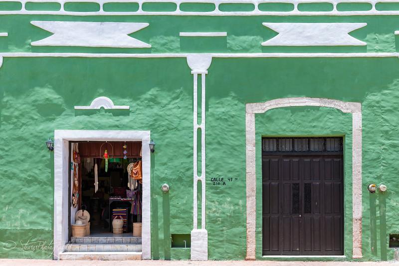 Painted Village I - Valladolid, Yucatan, Mexico 2019