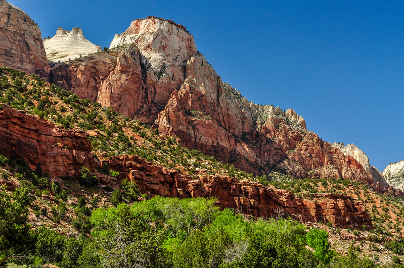 Changing Rock Face of Zion