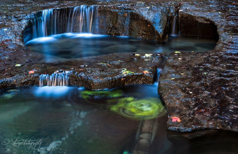 Autumn pools - Subway, Zion NP, UT