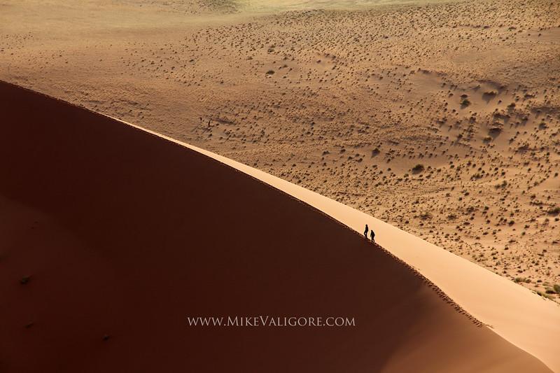 Sand Dune Hiking<br /> Namibia