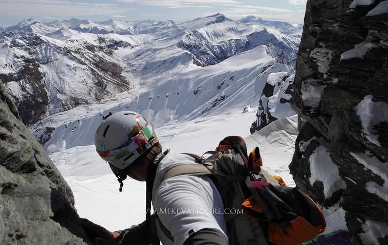Snowboard mountaineering<br /> Wanaka, New Zealand