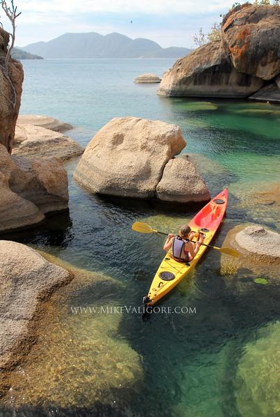 Kayaking Lake Malawi<br /> Cape Maclear