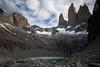 Las Torres<br /> Torres del Paine National Park<br /> Chile