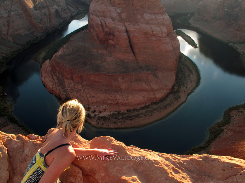 Overlooking Horseshoe Bend<br /> Page, AZ
