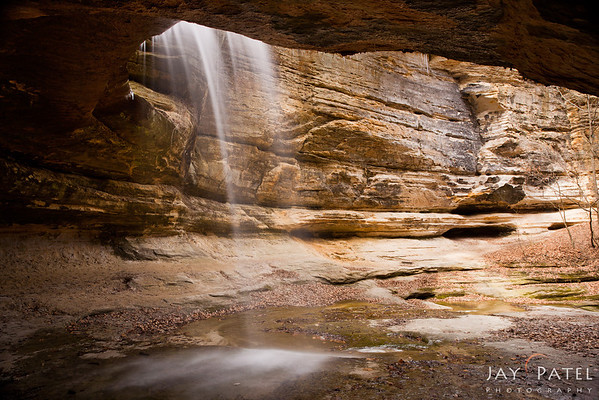 Lasalle Canyon, Starved Rock State Park, Illinois (IL), USA;
