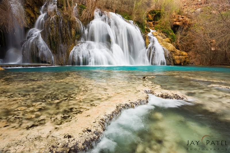 Navajo Falls, Havasu Canyon, Arizona (AZ), USA