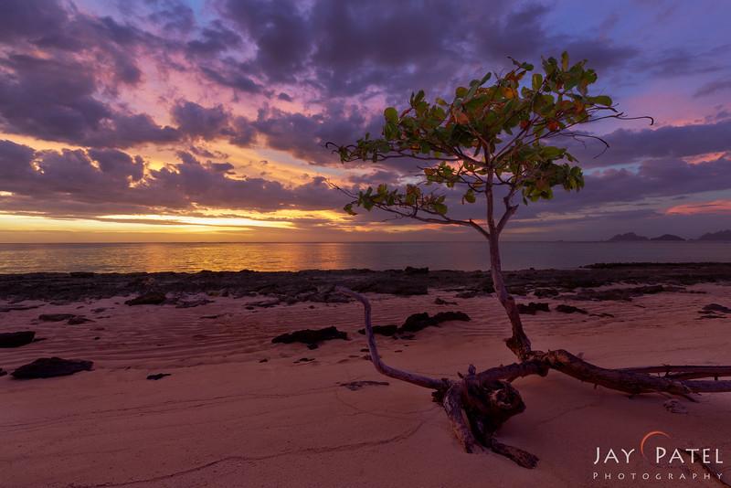 Sunset Beach, Mana Island, Fiji