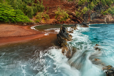 Red Sand Beach, Maui, Hawaii (HI), USA