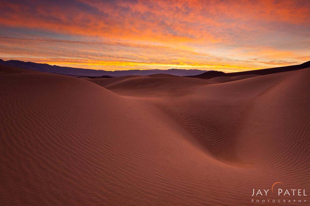 Mesquite Dunes, Death Valley, California (CA), USA
