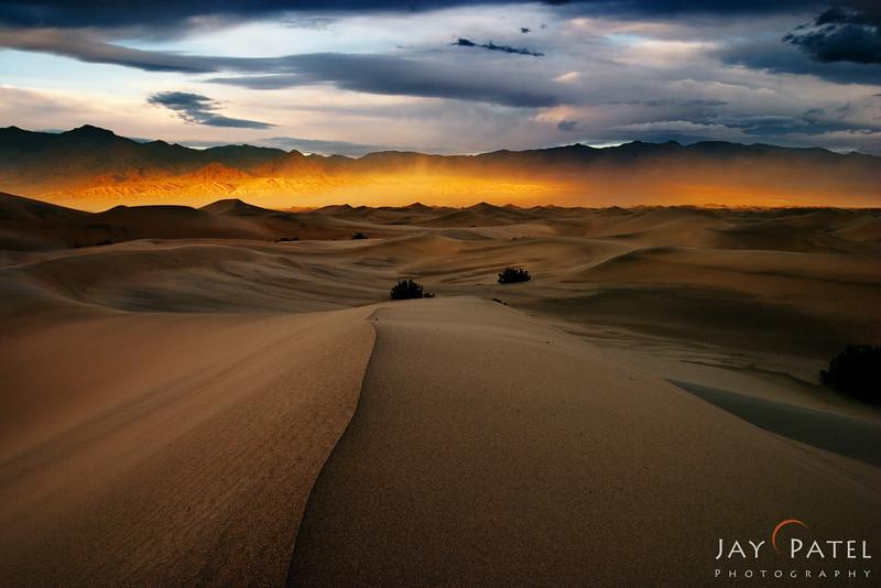 Mesquite Dunes, Death Valley National Park, California (CA), USA