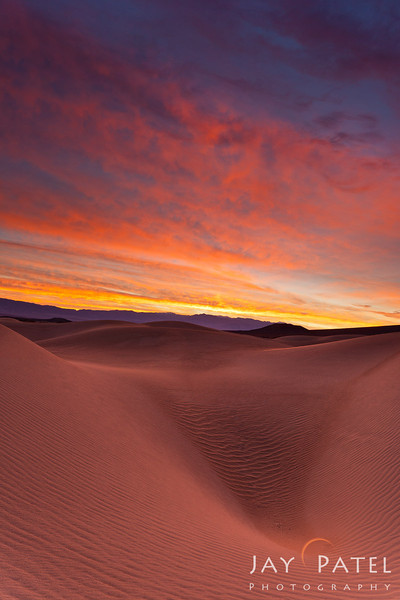 Mesquite Dunes, Death Valley, California (CA), USA