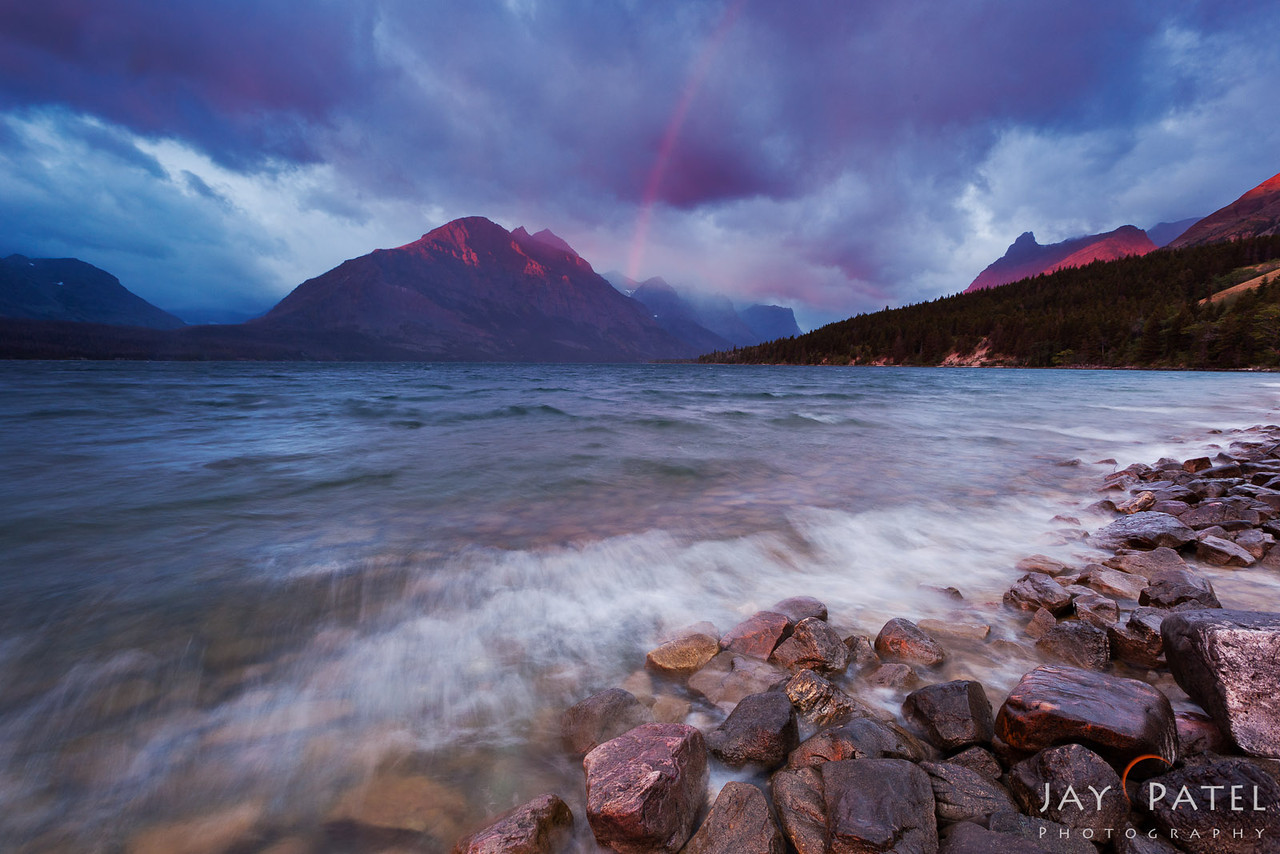 St. Mary Lake, Glacier National Park, Montana (MT), USA