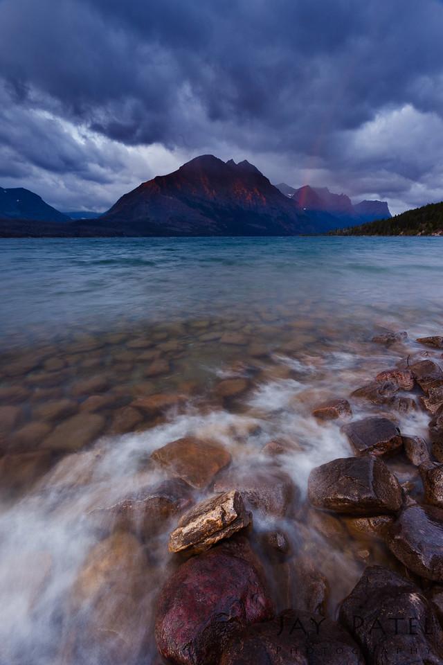 St. Mary Lake, Glacier National Park, Montana (MT), USA