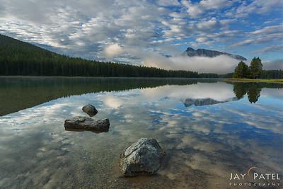 Two Jack Lake, Banff National Park, Alberta, Canada
