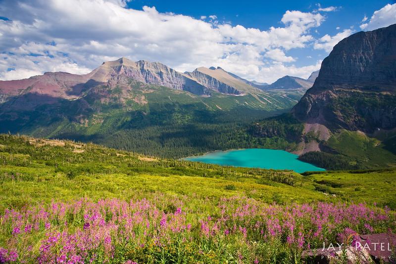 Lower Grinell Lake, Glacier National Park, Montana (MT), USA