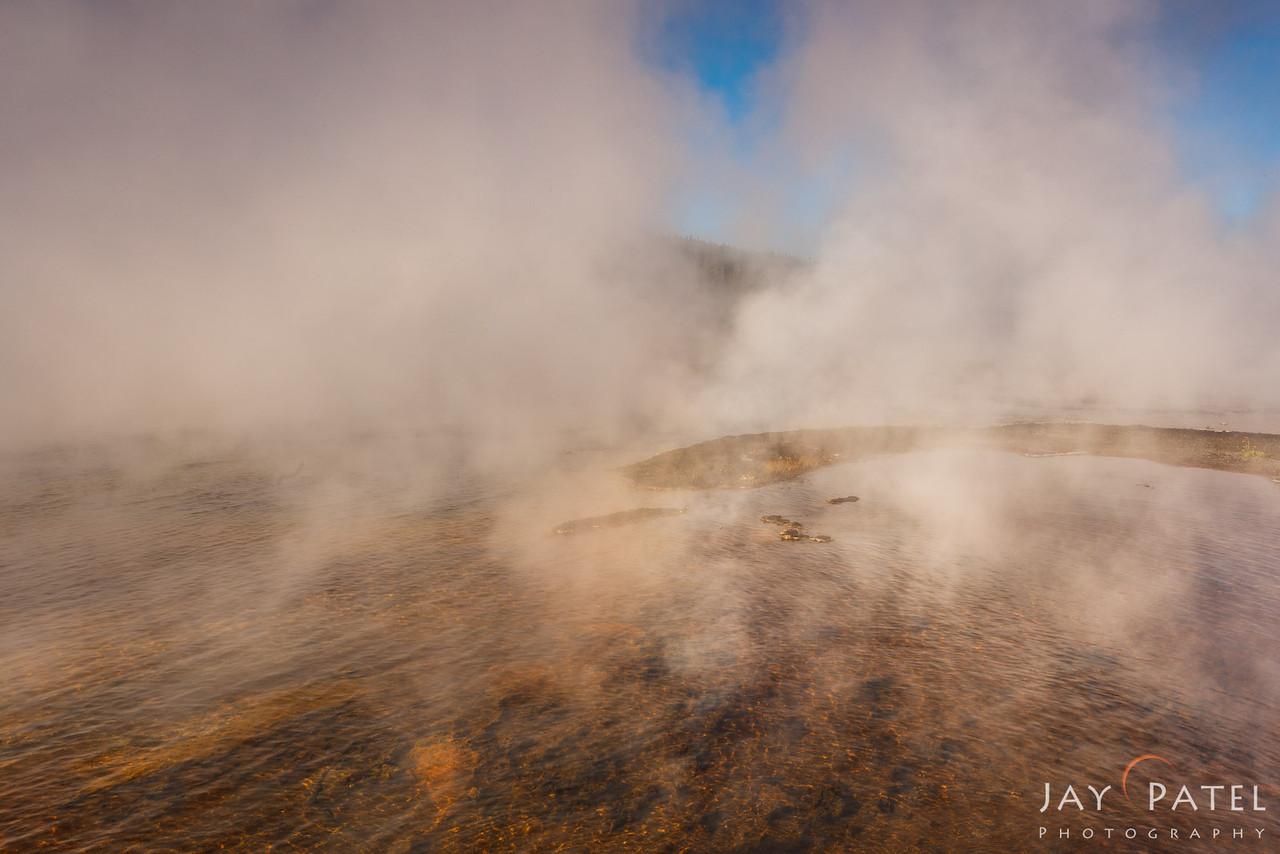 Firehole Lake, Yellowstone National Park Wyoming (WY), USA
