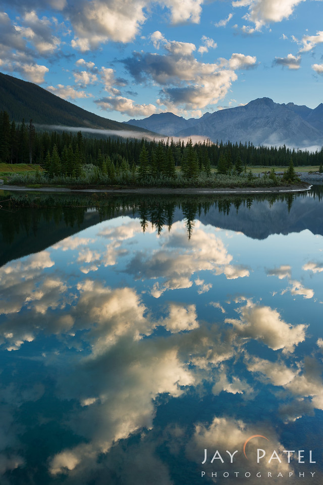Cascade Ponds, Banff National Park, Alberta, Canada