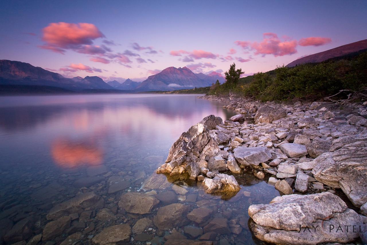 St. Mary's Lake, Glacier National Park, Montana (MT), USA