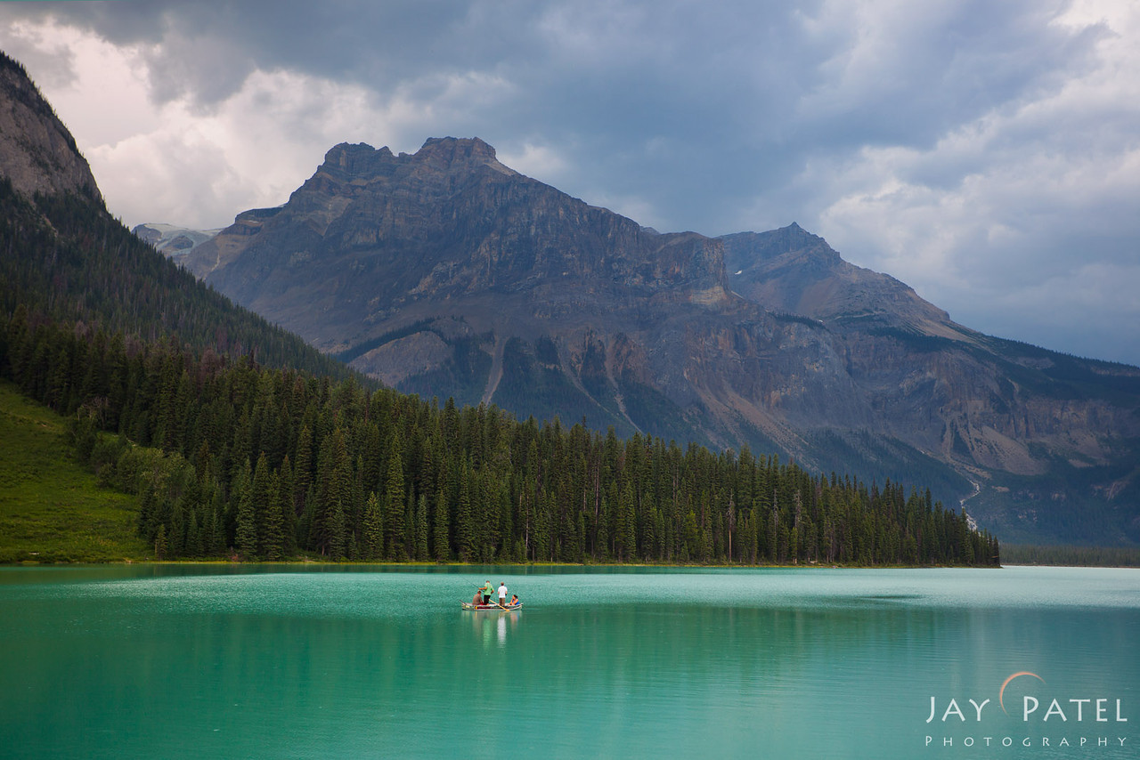 Emrald Lake, Yoho National Park, British Columbia, Canada