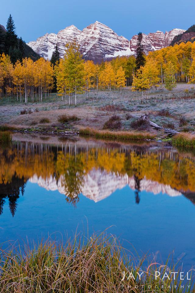 Maroon Bells, Colorado (CO), USA