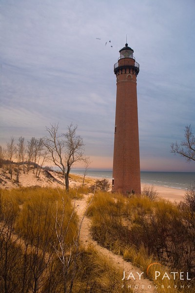 Lake Michigan, Michigan (MI), USA