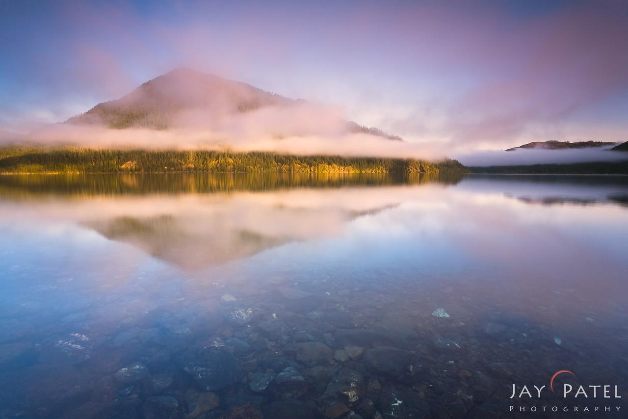 Lake Crescent, Olympic National Park; Washington (WA); USA