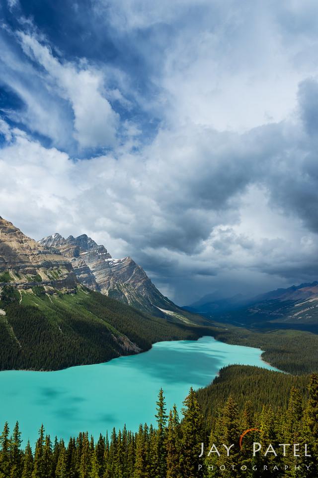 Peyto Lake, Banff National Park, Alberta, Canada
