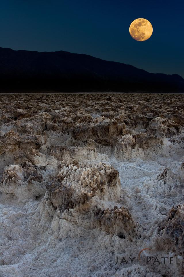 Devil's Golf Course, Death Valley National Park, California (CA), USA