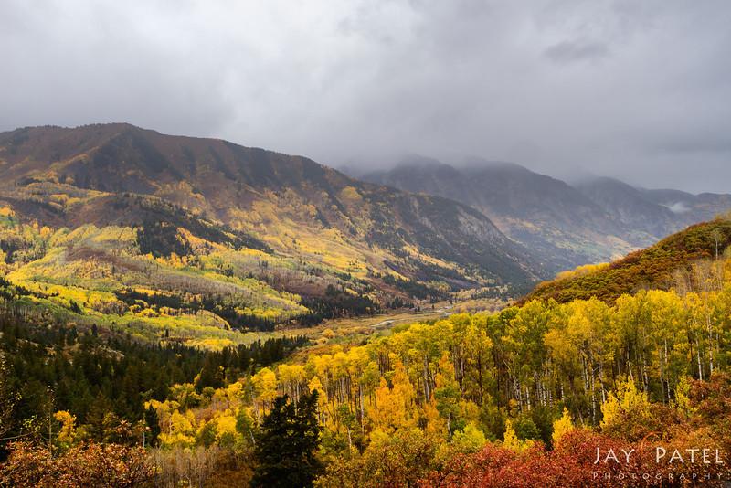 Crystal Creek, Colorado (CO), USA