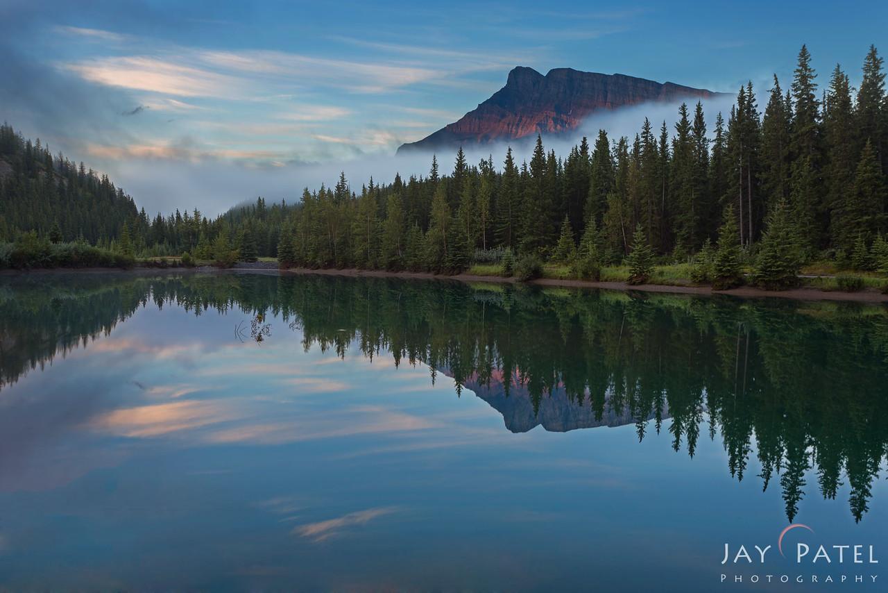 Cascade Ponds, Banff National Park, Alberta, Canada