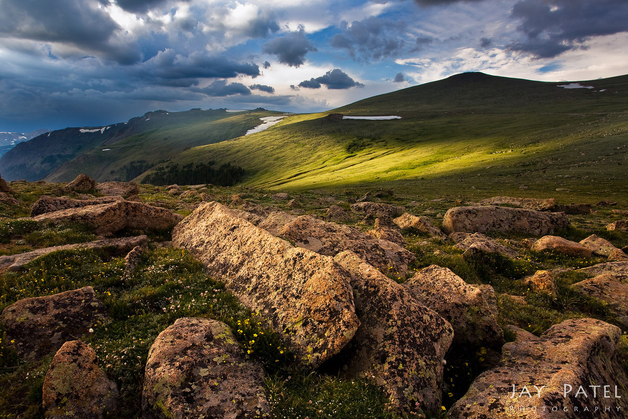 The Tundra, Rocky Mountain National Park, Colorado (CO), National Park; USA