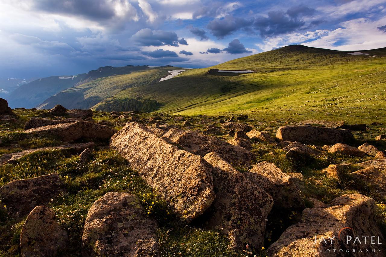 The Tundra, Rocky Mountain National Park, Colorado (CO), National Park; USA