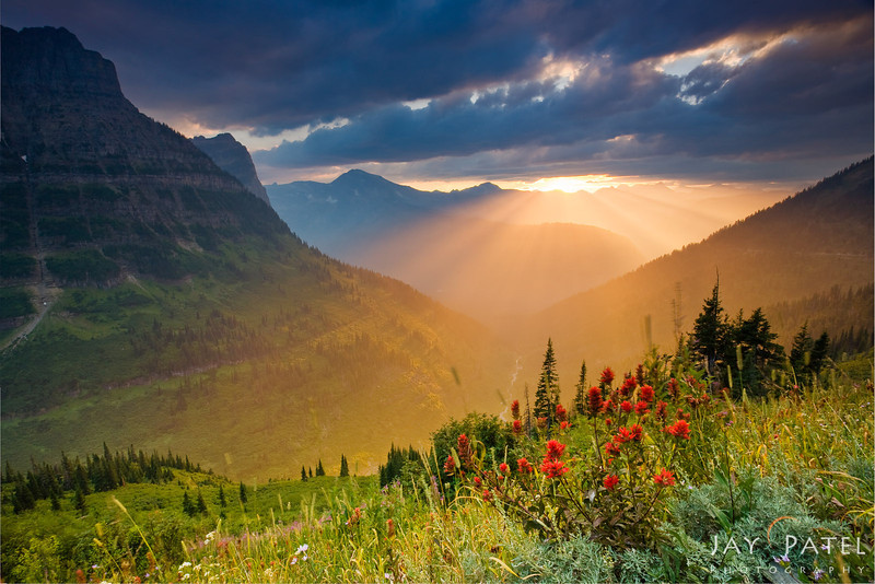 Going to Sun Road, Glacier National Park, Montana (MT), USA