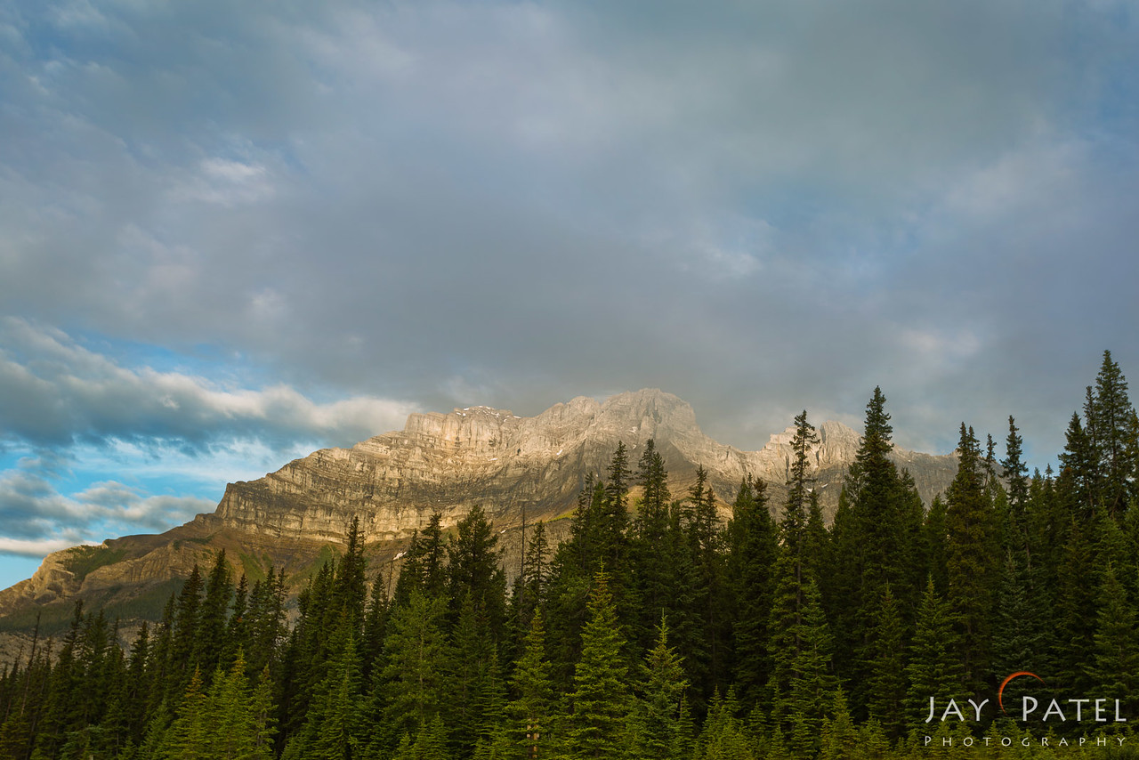 Cascade Mountain, Banff National Park, Alberta, Canada