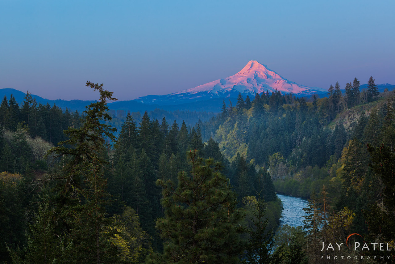 Hood River, Mt. Hood Wilderness, Oregon (OR), USA